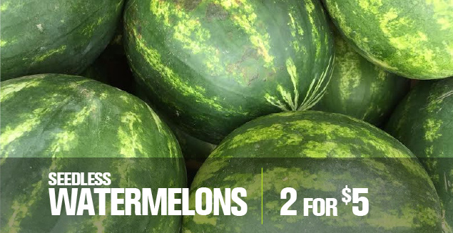 SL Watermelon 2 for $5